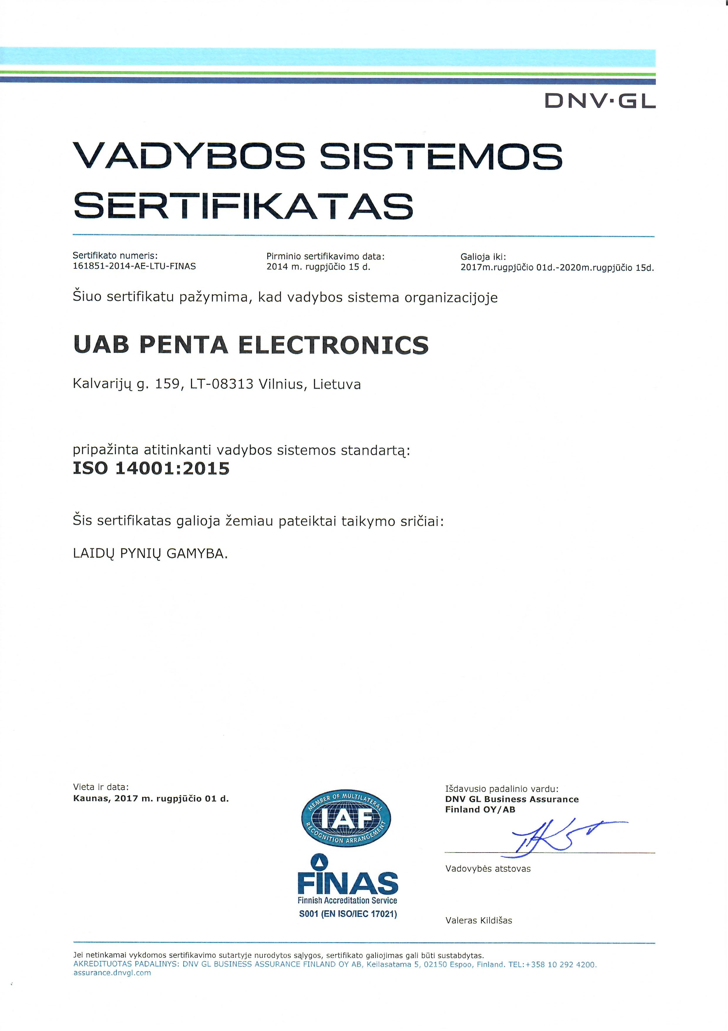 ISO 9001 LT
